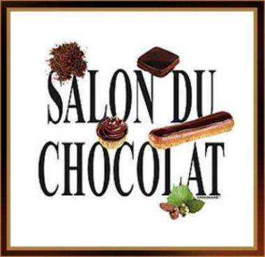 Salon du Chocolat October 28th to November 1st