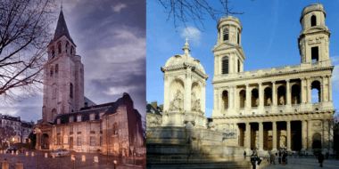 Dans notre quartier: L'Eglise Saint Germain des Près et l'Eglise Saint Sulpice