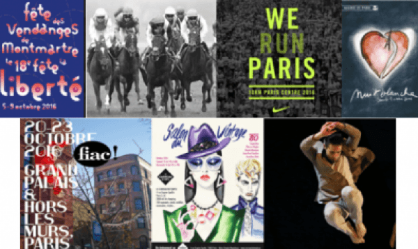 October happenings in Paris